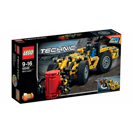 LEGO Technic 42049 - Pyrotechnické vozidlo