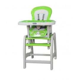 COTO BABY Jedálenská stolička Stars - zelená