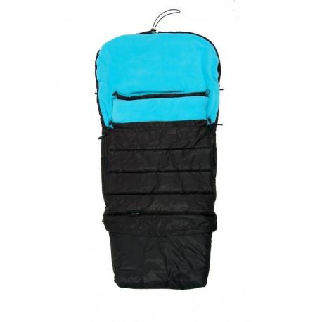 PiDiliDi Zimný fusak 3v1 - čierno/modrý
