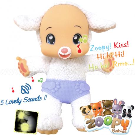 Zoopy Babies Plyšová ovečka