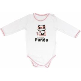 Body Panda - dlhý rukáv, roz. 92