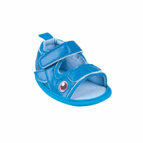 Topánočky, sandálky Fish, tm. modré