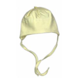 Bavlnená čiapočka NICOL - žltá