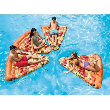 Nafukovacie lehátko 175 x 145 cm - Pizza