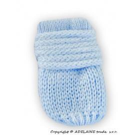 73007a04ba16 Zimné detské rukavice s kožušinou - šnúrkou YO - sivá ružová kožušina