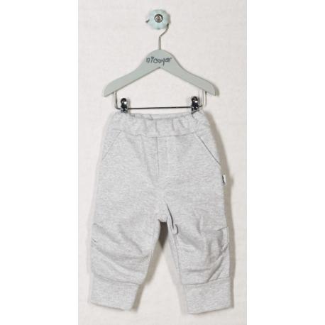 Tepláčky, nohavice KORYTNAČKA - sivé, roz. 80
