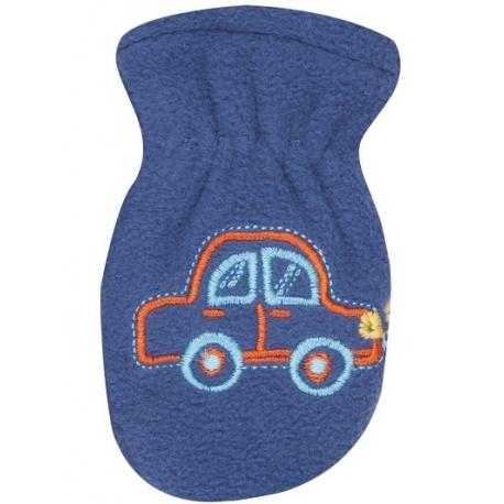 Zimné dojčenské polarové rukavice YO - tm. modré, veľ. 13-14cm