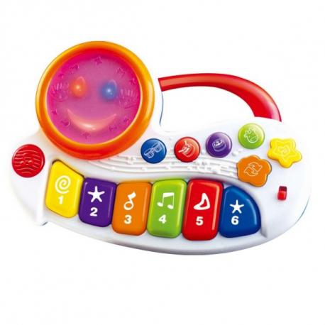Interaktívna hračka s melódiu Veselé piano