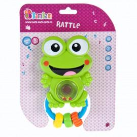 Hudobná hrkalka Žabka