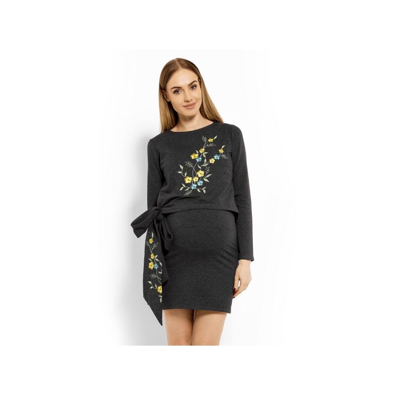 07c4bbe1e18b Elegantné tehotenské šaty