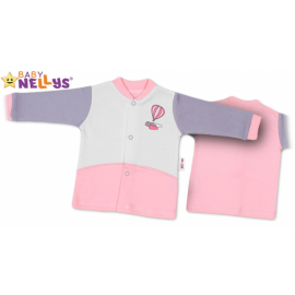 Košieľka Baby Nellys ® Balónik v ružovej