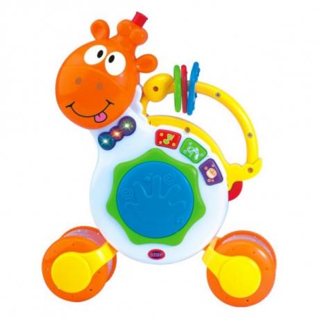 Interaktívna hračka s melódiu Hrajúca žirafka