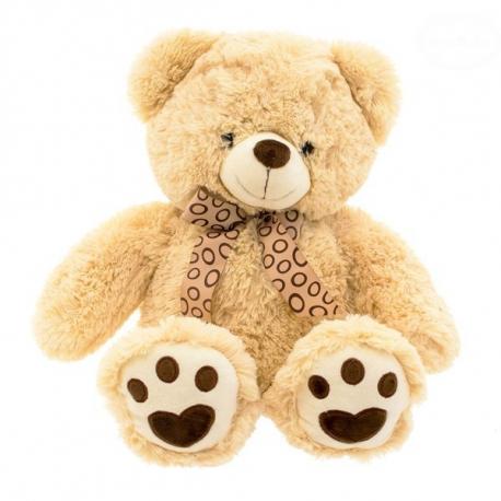 Plyšový medvedík - béžový