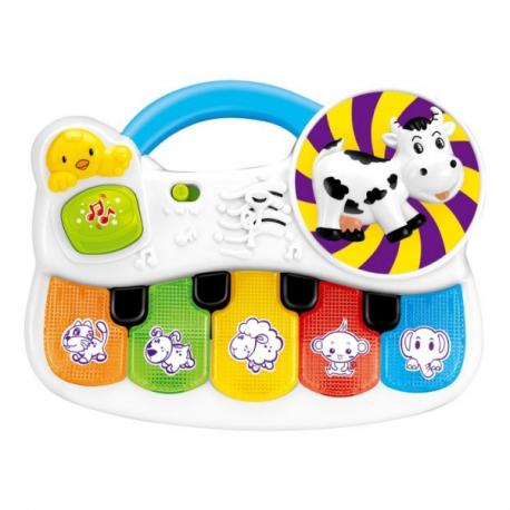 Interaktívna hračka s melódiu Hrajúca zvieratka
