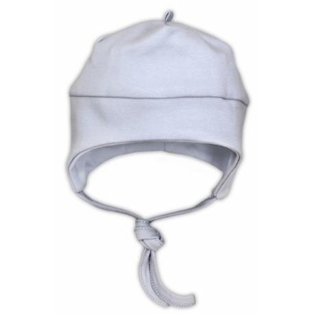 Bavlnená čiapočka NICOL jašterička - šedá