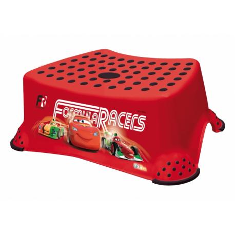 Stolička s protišmykovou funkciou -Cars- červená