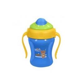 Hrnček modrý so slamkou Baby Ono 220ml