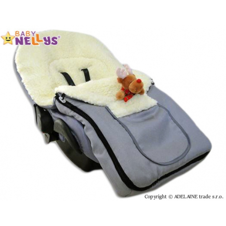 Multifunkčný fusak Vlna 4v1 Baby Nellys ® - tyrkysový