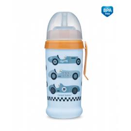 Športová nekvapkajúci fľaša Racing - sv. modrá