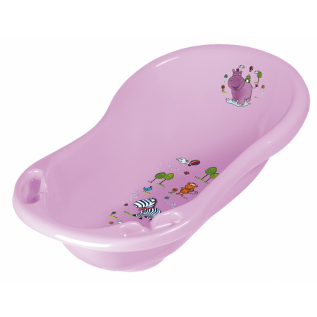 Detská vanička Hippo 84 cm - Fialová