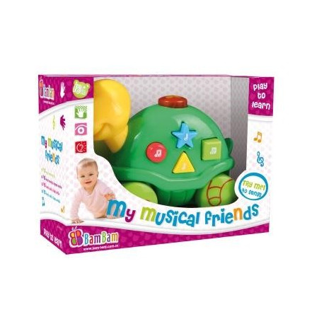 Hudobná hračka - korytnačka