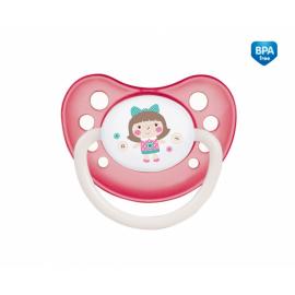 Cumlík anatomický Canpol Babies 18m+ C, TOYS - panenka ružová