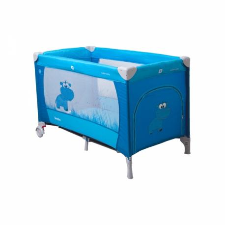 Cestovná postieľka Samba Plus - modrá