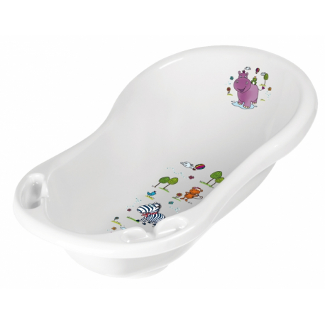 Detská vanička Hippo 84 cm - Biela