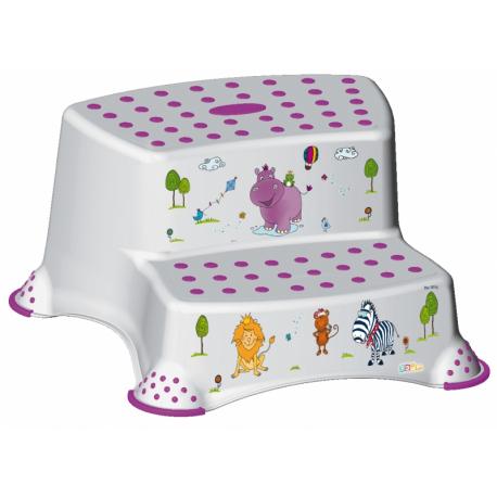 Stolička - schodíky s protišmykovou funkciou - Hippo
