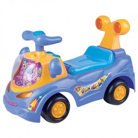 Odrážadlo, jezdítko - FUNNY CAR - fialové