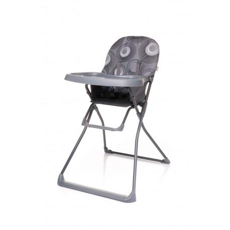 Jedálenská stolička FLOWER GREY