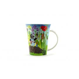 Hrnček Krtko modrý porcelánový 11cm