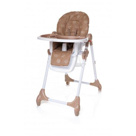 Jedálenská stolička DECCO BROWN