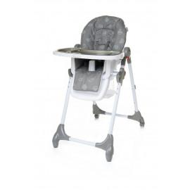Jedálenská stolička DECCO GREY