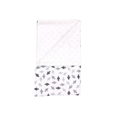 Detská deka, dečka Arrow 80x90 - Minky/bavlna