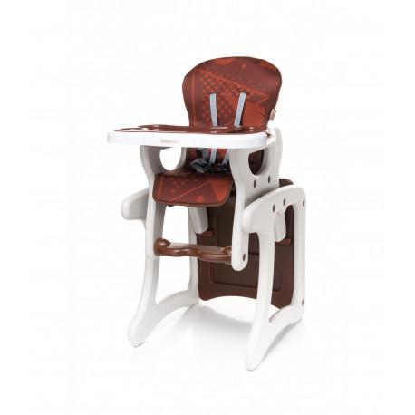 Jedálenská stolička Fashion BROWN
