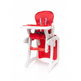 Jedálenská stolička Fashion RED