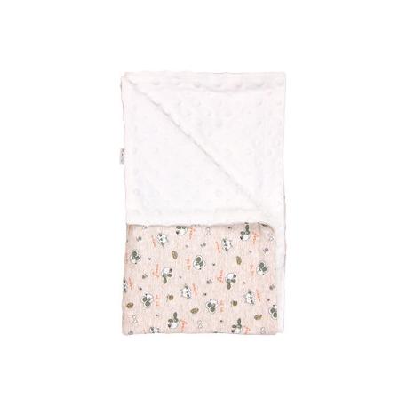 Detská deka, dečka Pet´s 80x90 - Minky/bavlna