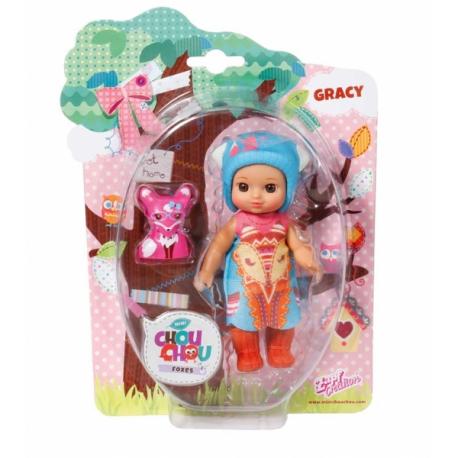 Chou Chou bábika mini Líštičky - grace
