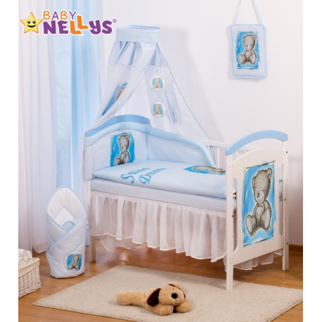 Sifónové nebesia Sweet Dreams by TEDDY - modré/biele