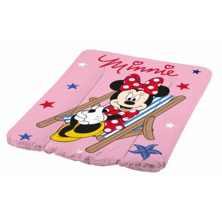 Prebaľovacia podložka Minnie - ružová