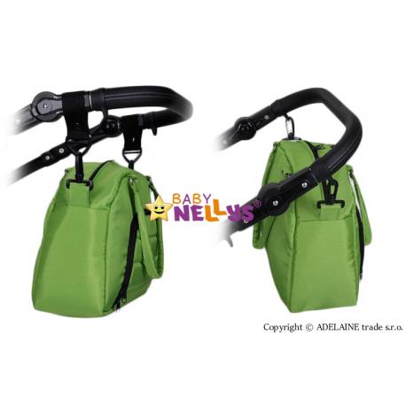 Taška na kočík Baby Nellys ® ADELA LUX - hnedá