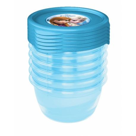 Súprava plastových škatuliek Frozen 0,5l - 5 ks