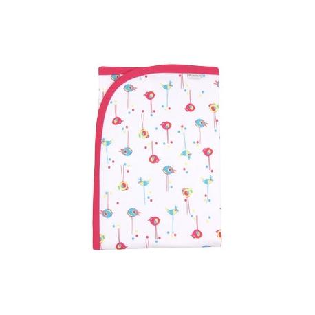Detská deka, dečka Bird 80x90 - bavlna