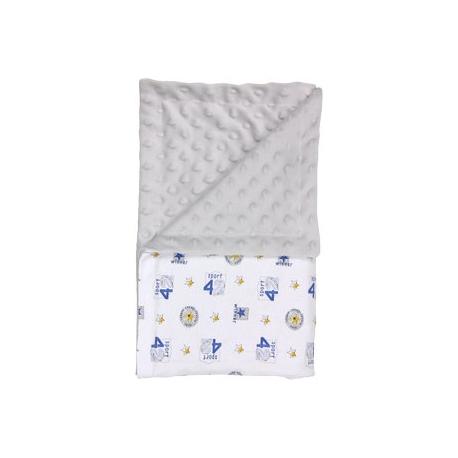 Detská deka, dečka Four 80x90 - Minky/bavlna