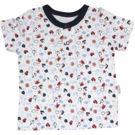 Bavlnené Polo tričko Parník - krátky rukáv