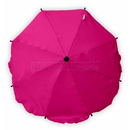 Slnečník, dáždnik univerzálne do kočíka - ružový