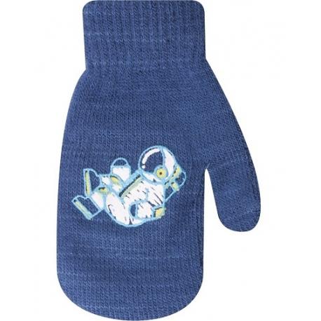 Dojčenské chlapčenské akrylové rukavičky YO - jeans
