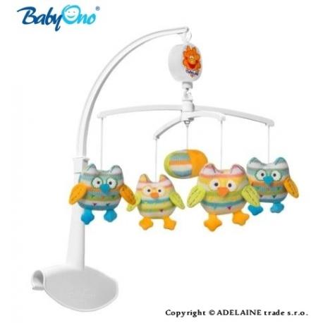 Kolotoč nad postieľku Baby Ono - sovička