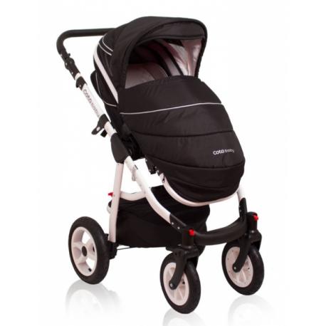 Kočík Aprilia Coto Baby 2v1 - dark grey